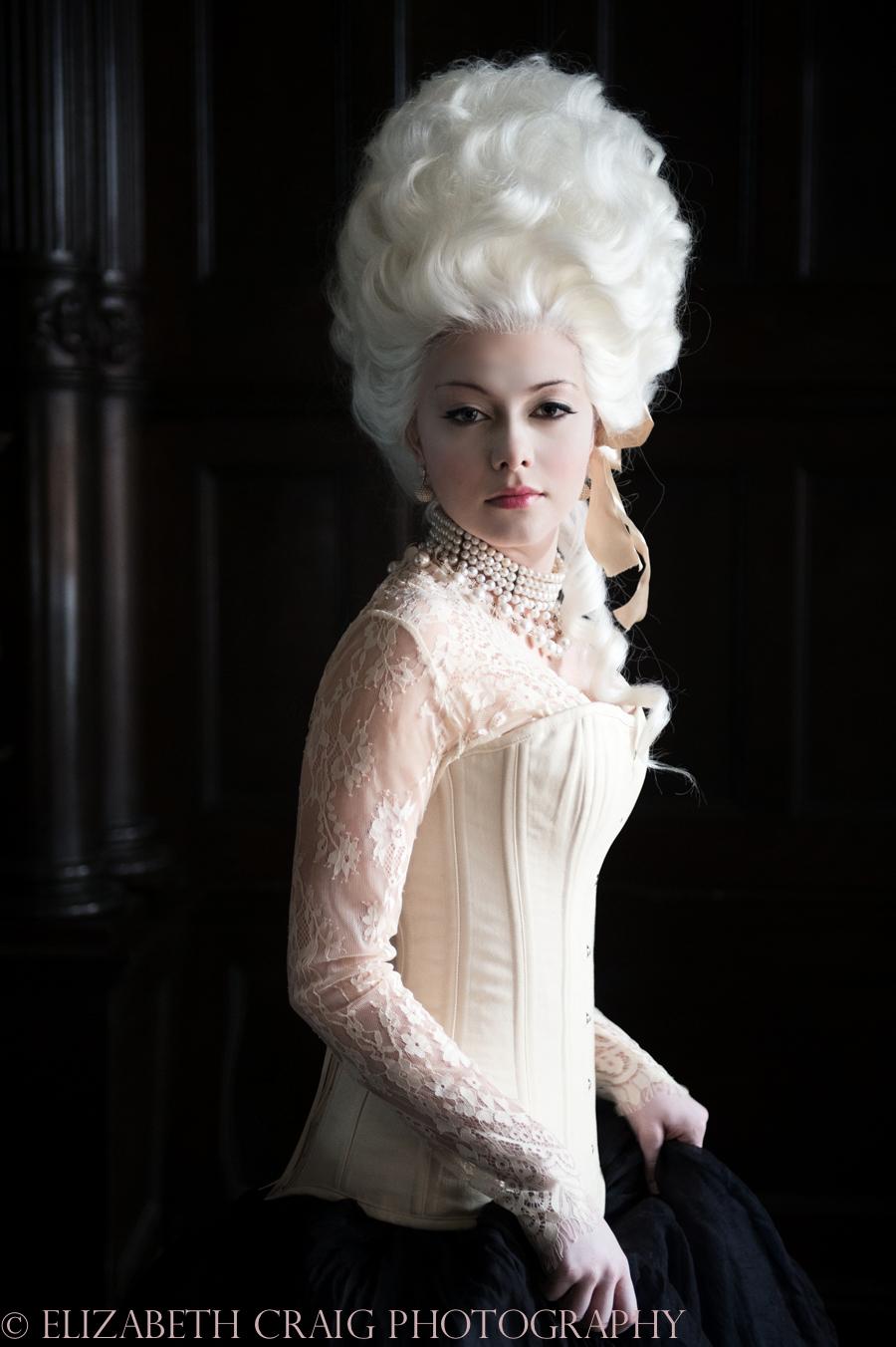 Baroque Beauty Photo Session | Elizabeth Craig Photography-001