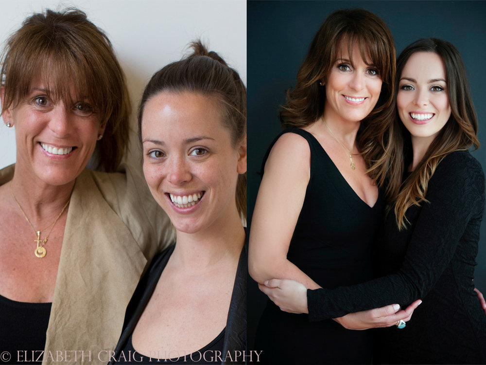 Mother Daughter Before & After Photography | Elizabeth Craig Photography-8