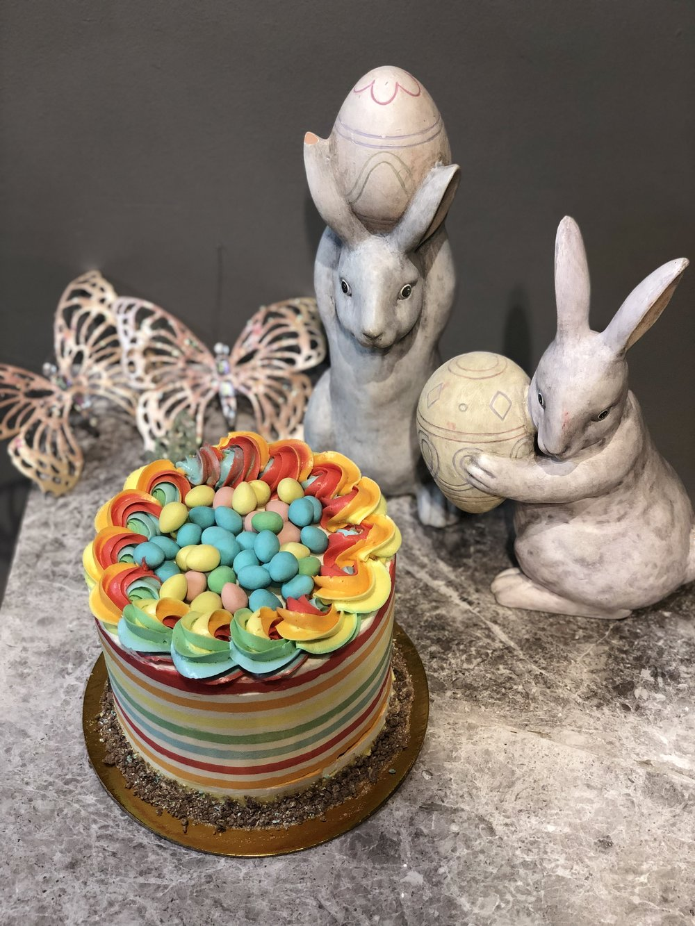 The Bunnies want the Cake