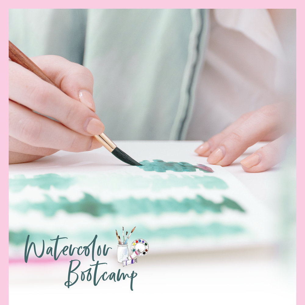 watercolor bootcamp -