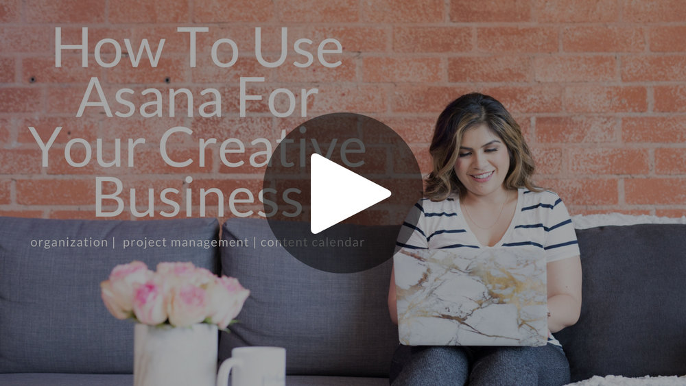 How to use asana for your creative business