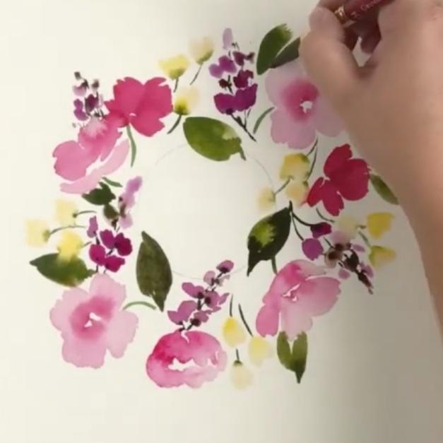 Floral Wreaths - MandieFair Meadow Studio