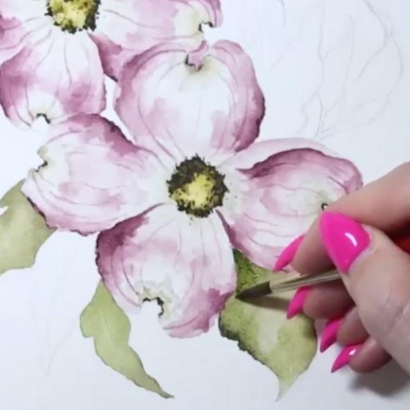 Watercolor 'Lootanicals' - CaraRosalie Gwen Paperie