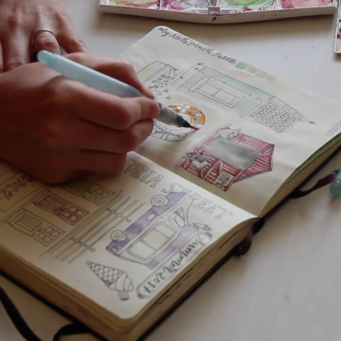 On The Go Sketching & Journaling - HelenHelen C. Stark