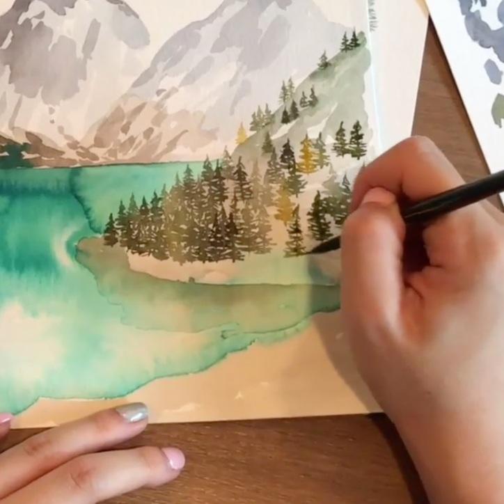Watercolor Landscapes - SarahArt by Sarah Ku