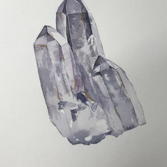 Crystal Watercolors - SarahArt by Sarah Ku