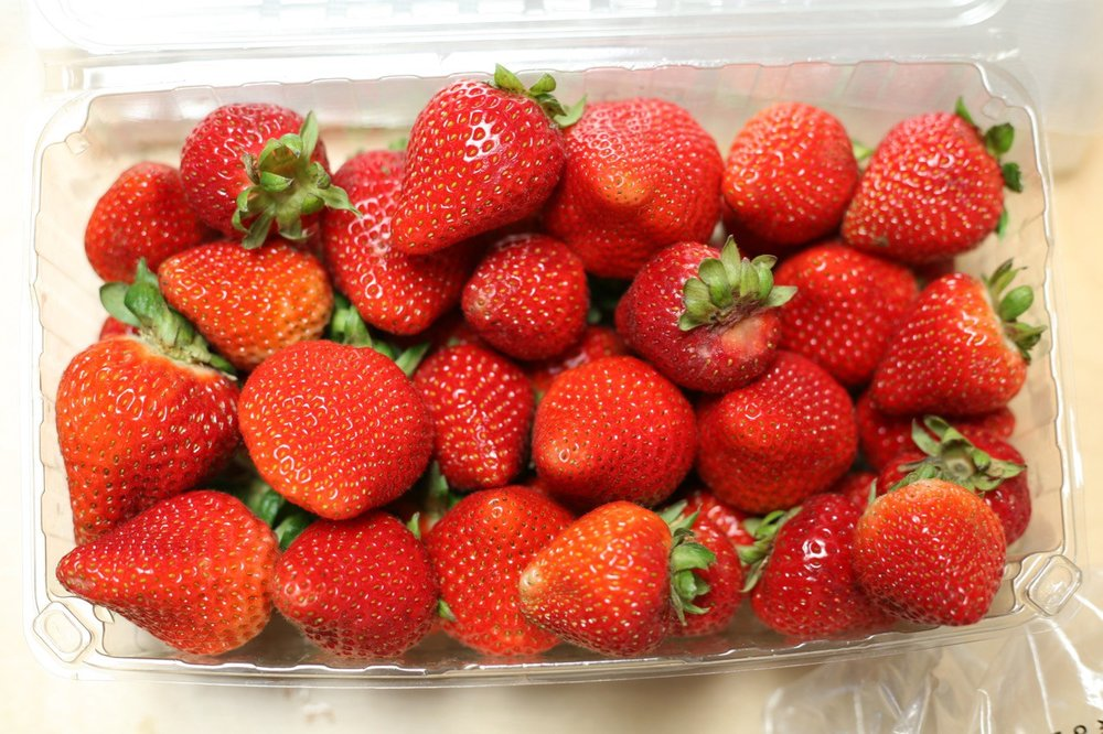 soft fruit - Blueberries, Strawberries, Raspberries, Blackberries….if you can eat it, there's a good chance we sell it!