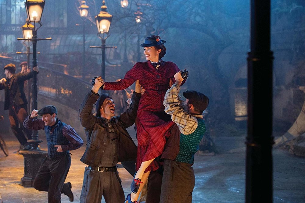 """""""Mary Poppins Returns"""" Emily Blunt Photo Credit: Jay Maidment - © Disney Enterprises, Inc. All Rights Reserved."""