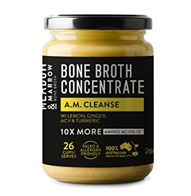 • 100% grass-fed beef bones  • improves bone, joint and muscle health  • drink hot or cold