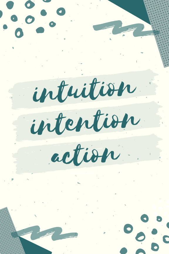 Live your soul purpose journal+planner - Tap into your INTUITION, cultivate your soul desires with INTENTION, and take inspired ACTION.