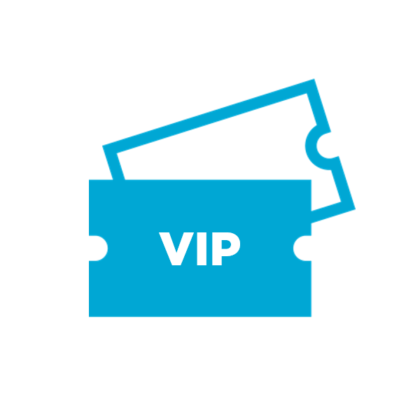 Attendee Types - Add as many attendee types like General Admission and VIP as you need for promotions and reporting.