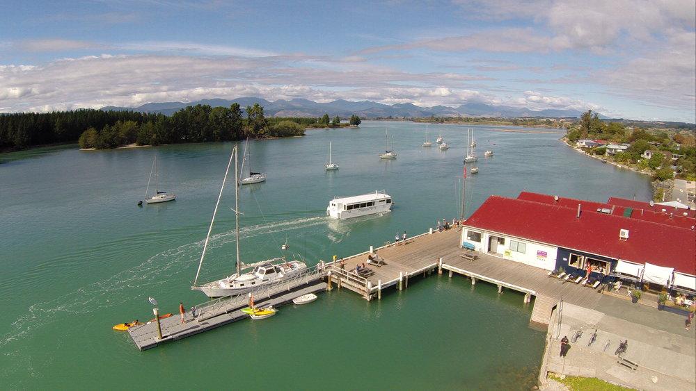 Aerial wharf and Museum (1).JPG