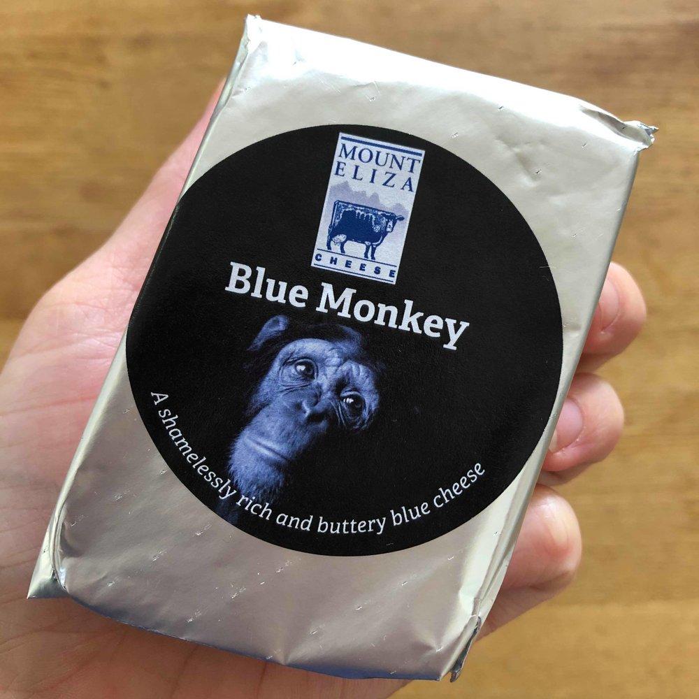 Mt Eliza Blue Monkey - Packaging