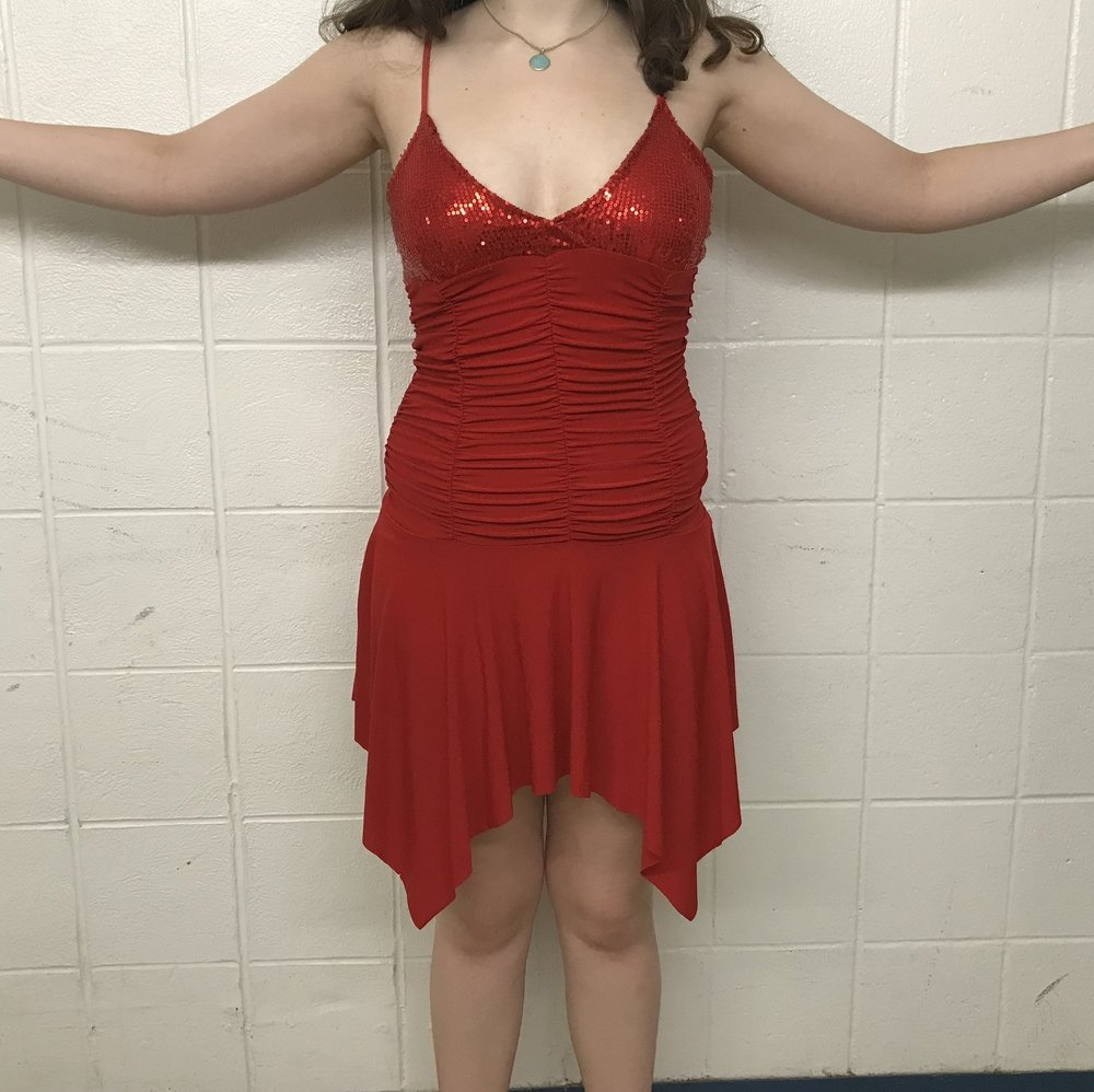 8996e574931 Red Latin Dress — Columbia University Ballroom