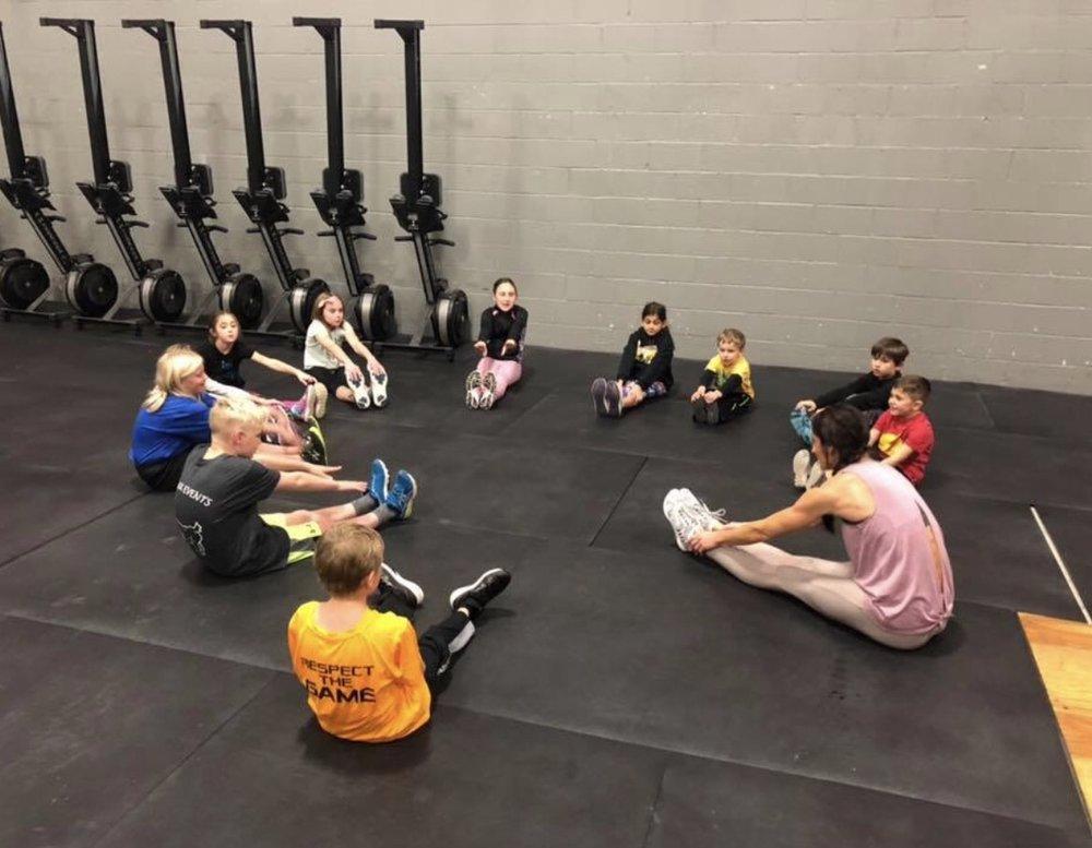 Kids Class at Crossfit