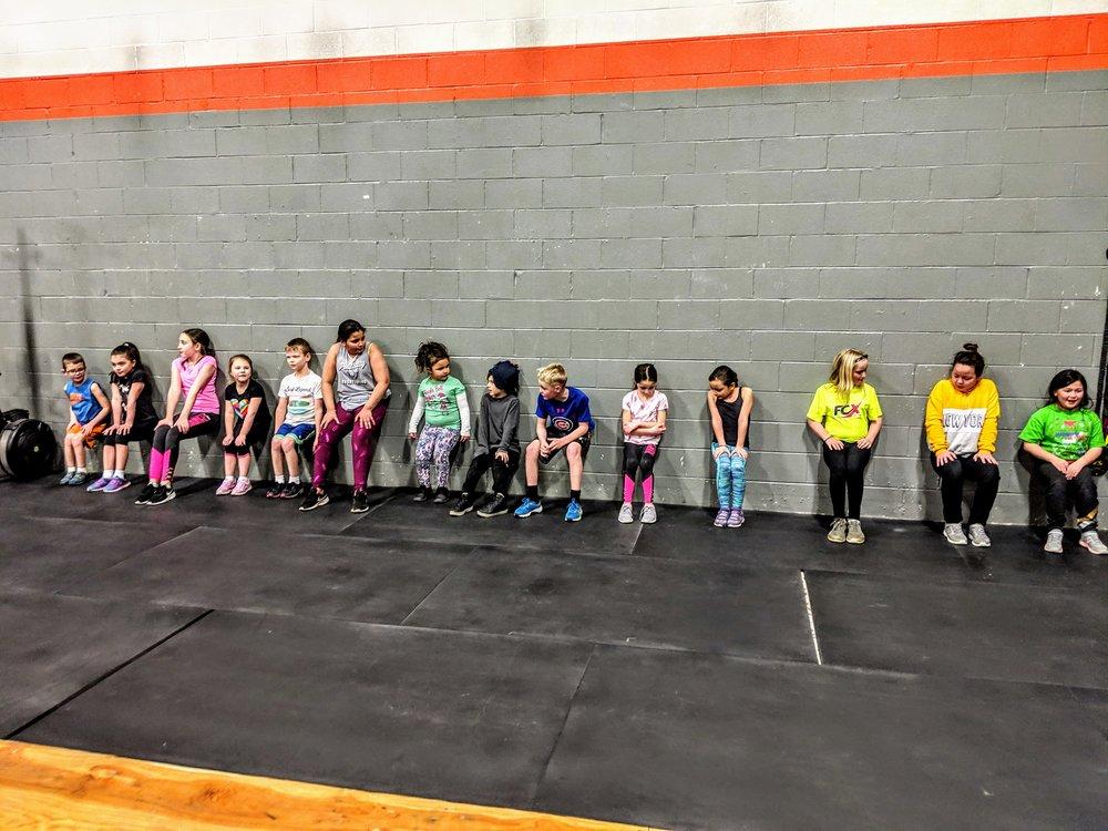 Kids Class at CrossFit Enclave