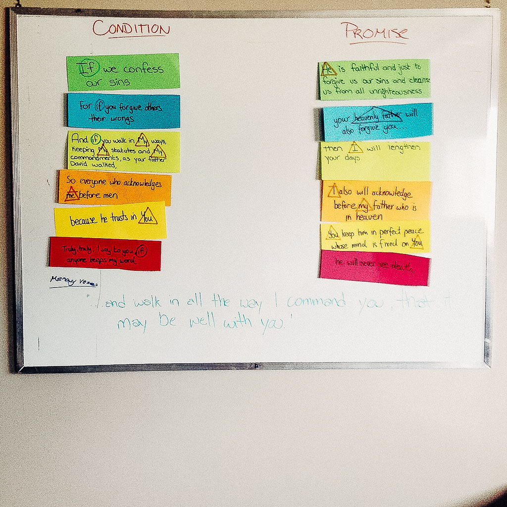 Teaching Children's Ministry: Conditional Promises