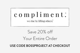 https://www.shopcompliment.com/discount/bossproject