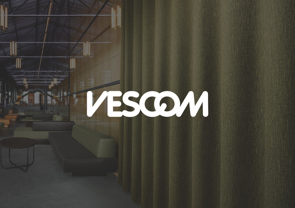 - Vescom develops, produces and distributes high-quality wallcovering, upholstery and curtain fabrics for the international contract market.