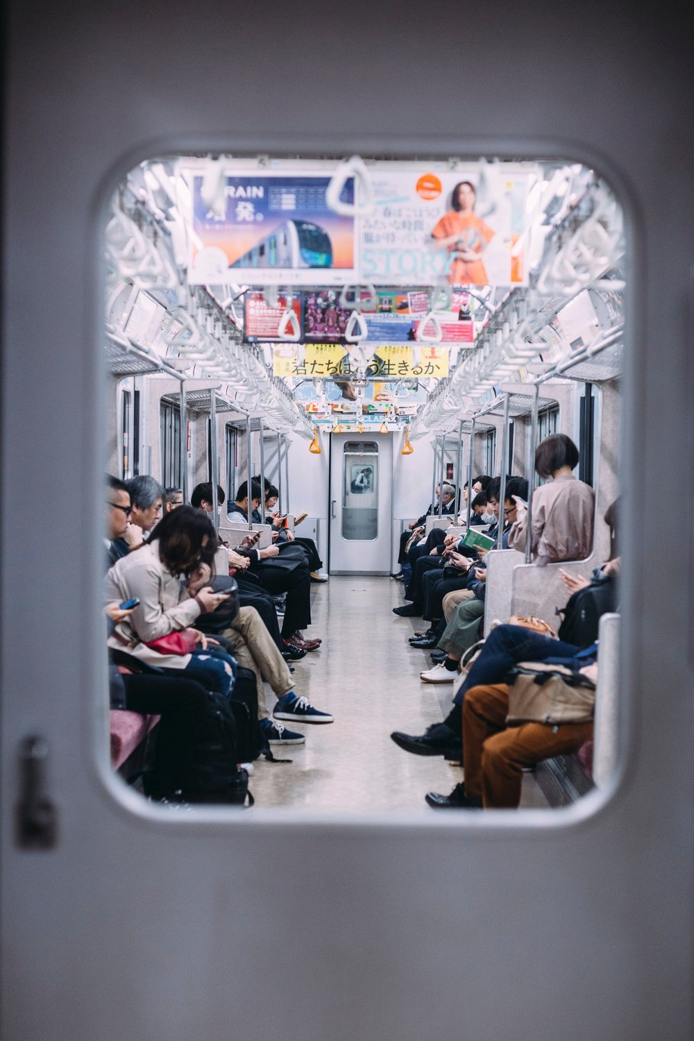 Tokyo is a bustling, thriving city with a population of 9.2 million! Here's what you should know before jumping aboard a Japanese train! -