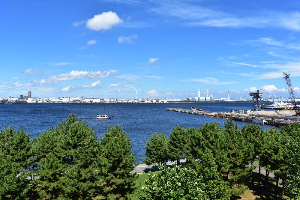 Yokohama is a beautiful, spacious port city half an hour away from Tokyo