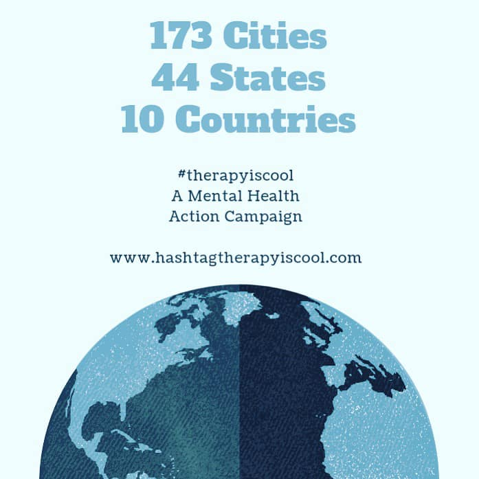 ✨THANK YOU✨    Today marks the first day of 2019, with a reflection of 2018.    In 2018, Dr. Christina Iglesia launched the    #therapyiscool    mental health action campaign with the desire to raise awareness and combat mental health stigma.    In less than 12 weeks, we have shipped #therapyiscool totes to: ⋆173 CITIES ⋆44 STATES ⋆10 COUNTRIES    Thank YOU for joining a community dedicated to raising awareness around mental health. Thank YOU for taking action to end mental health stigma. Thank YOU for making mental health services more accessible.    Please comment below if you have participated in the #therapyiscool mental health action campaign so we can THANK YOU personally!    #therapyiscool mental health action campaign is READY for 2019. 🙌