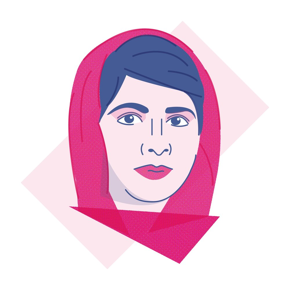 """When the whole world is silent, even one voice becomes powerful."" - Malala Yousafzai"