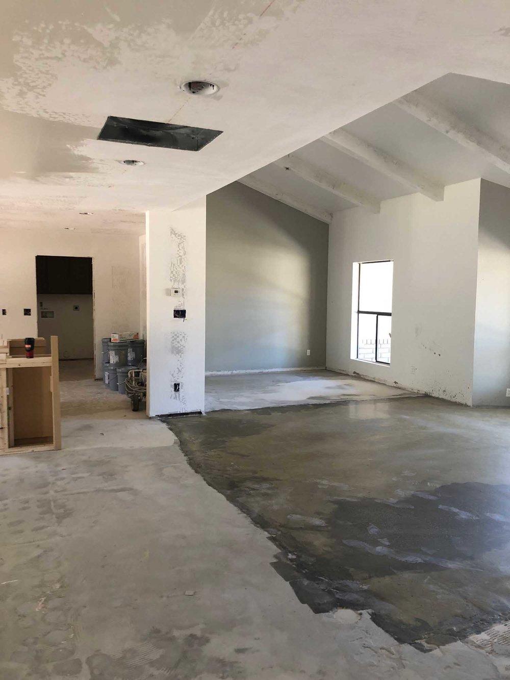 Ongoing room renovation