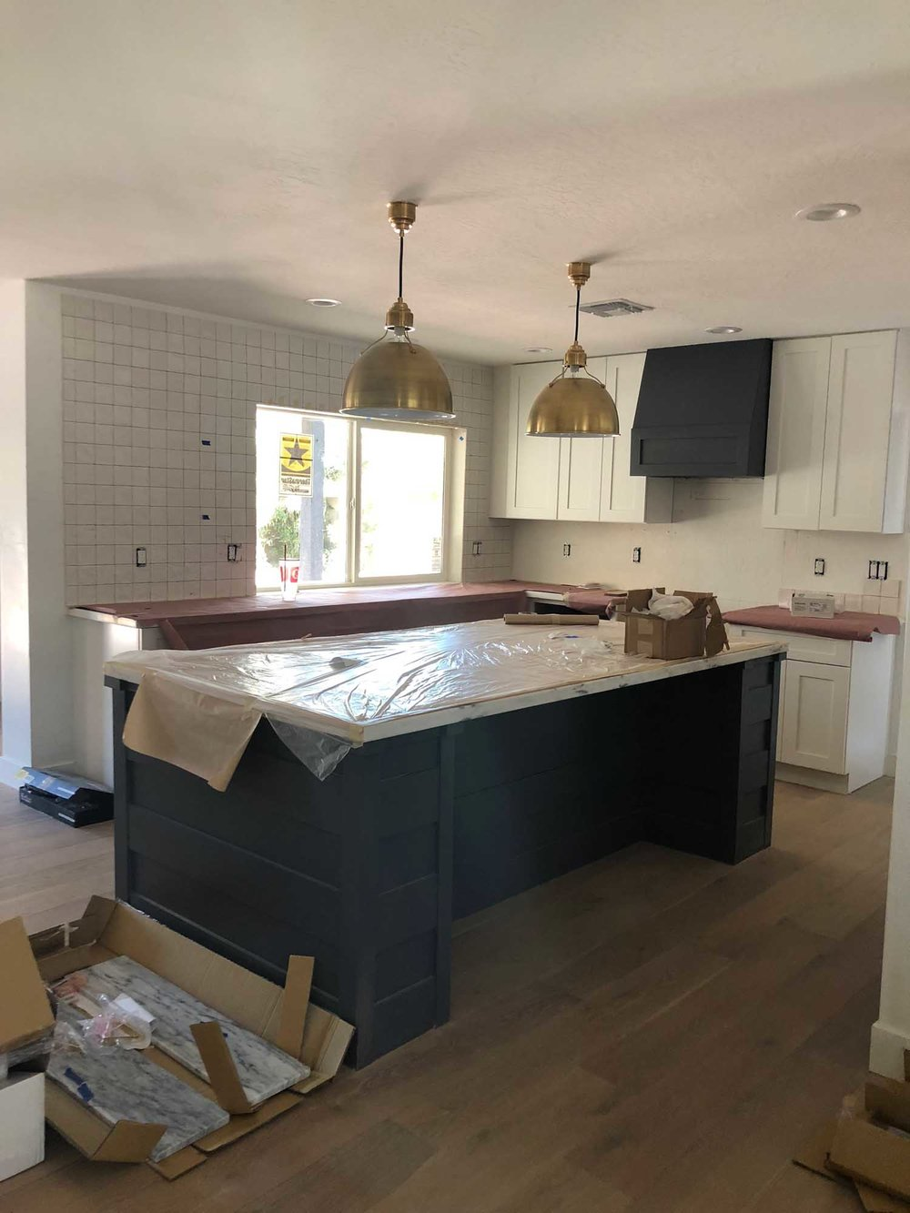 Ongoing kitchen renovation