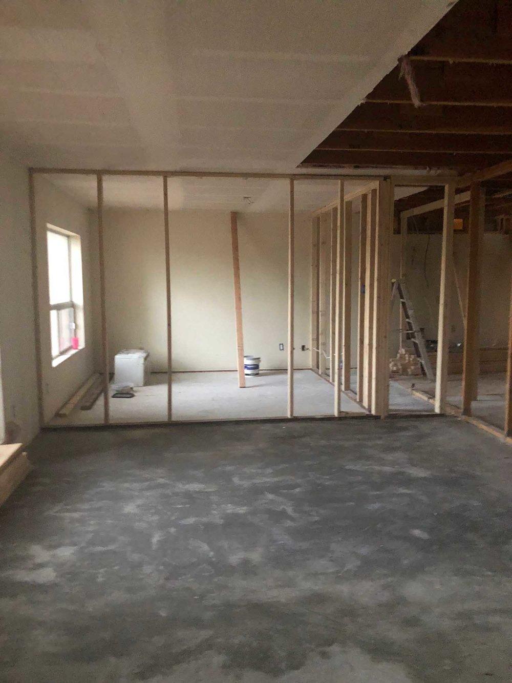 Under renovation room