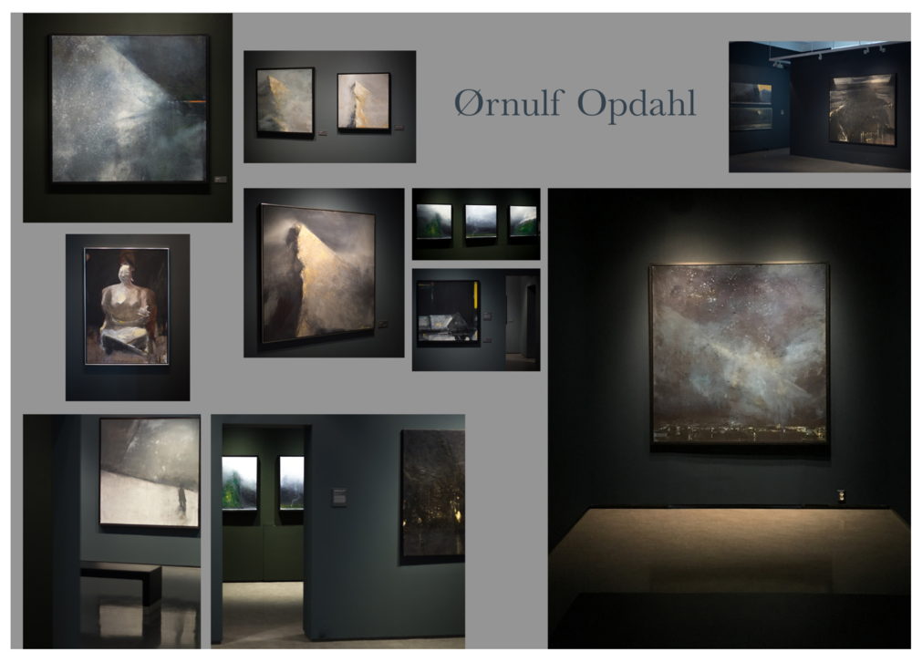 Colour - and exhibition design. Painter Ørnulf Opdahl retrospective exhibition 2017. KUBE Art Museum, Ålesund, Norway