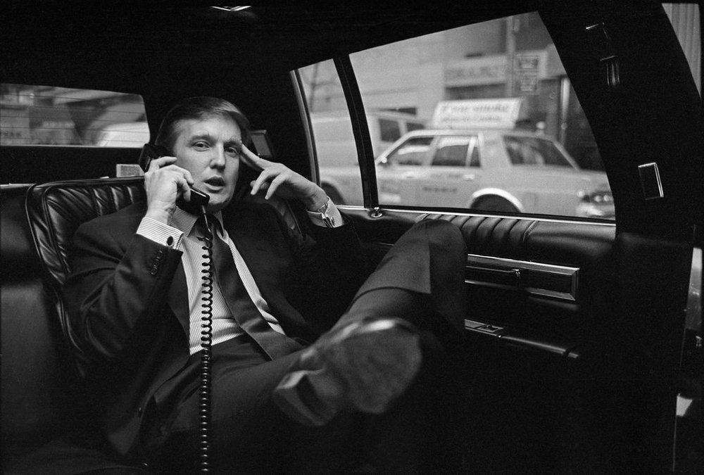 Donald Trump in 1985.  Neal Boenzi/The New York Times