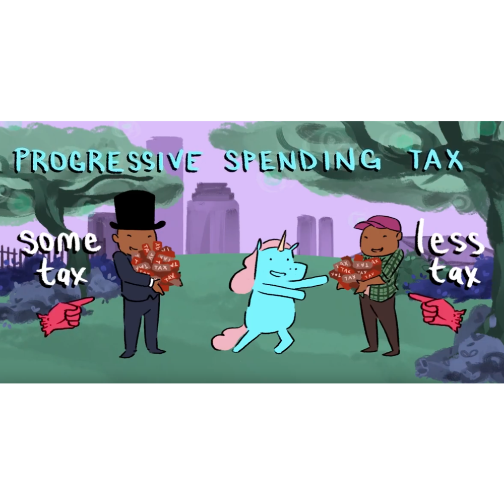 Progressive Spending Tax