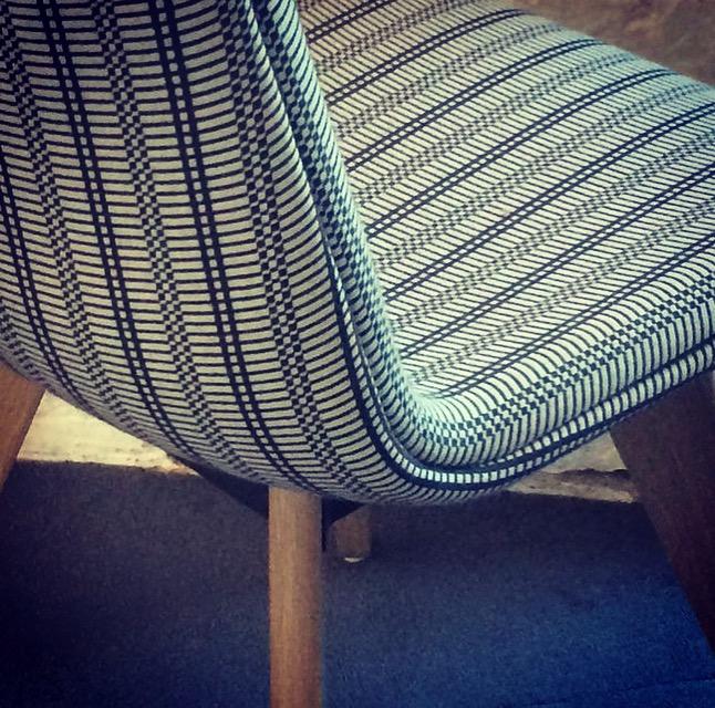 Upholstery for Melin Tregwynt, 2017.