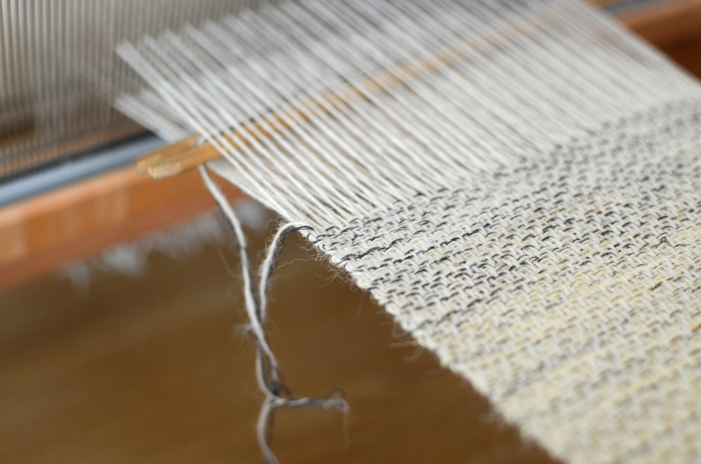 1. Table loom weaving, 2018.JPG