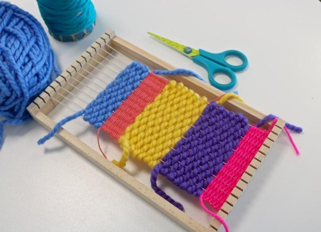 Frame loom weaving workshop, 2018 (3).JPG