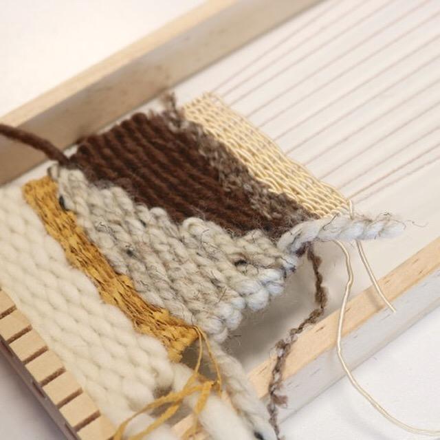 Frame loom weaving workshop, 2018 (4).JPG