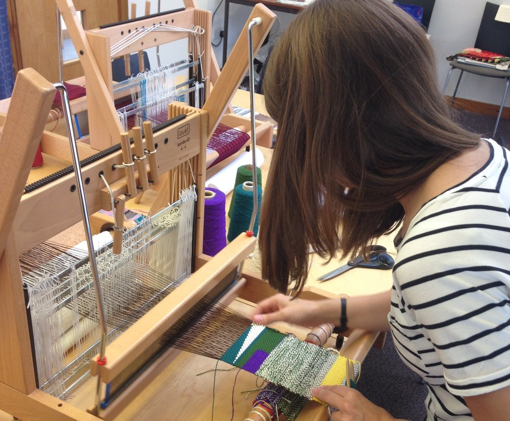 Introduction to Weave workshop, Craft in the Bay.JPG