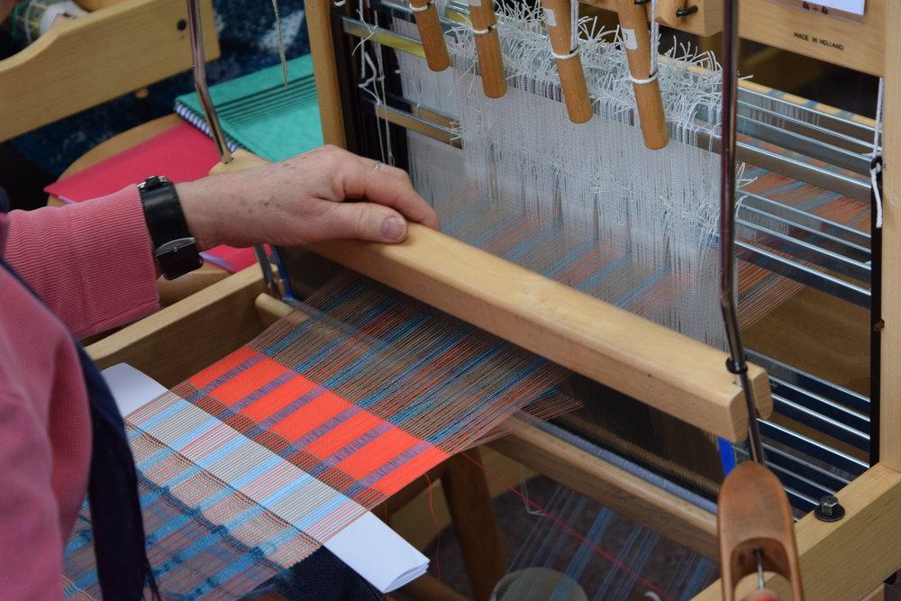 Rule Breaking Weaving workshop, Devon Weavers Workshop 2016.JPG