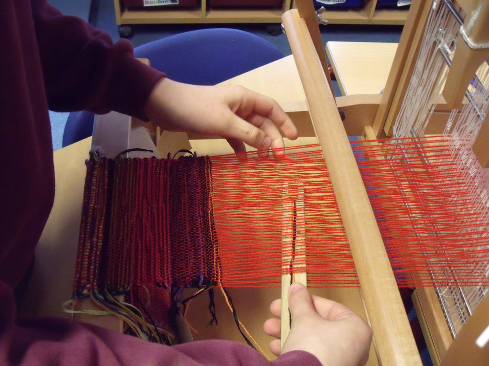 Ruthin Craft Centre START project, 2011. Weave workshop (2).JPG
