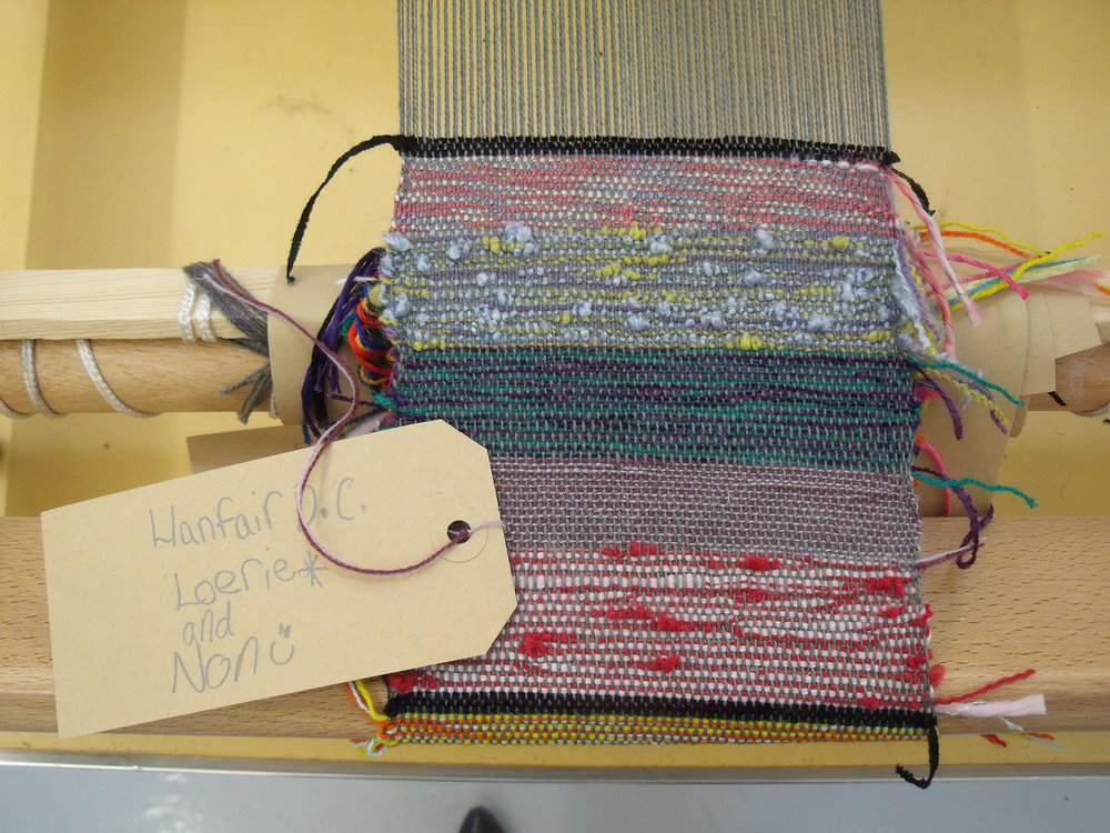 Ruthin Craft Centre START project, 2011. Weave workshop (3).JPG