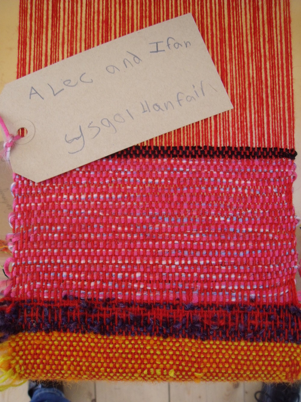 Ruthin Craft Centre START project, 2011. Weave workshop (4).JPG