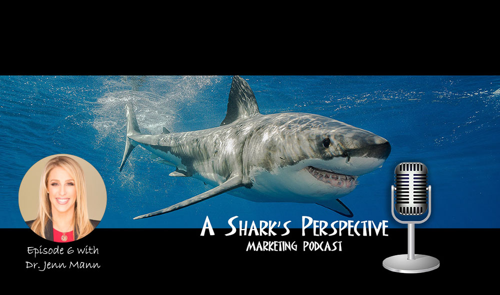 Episode 6 - Dr. Jenn Mann - Dr. Jenn's Therapy for a Shark(Listen)Conversation with Dr. Jenn Mann, a licensed psychotherapist, best-selling author, TV host (VH1's