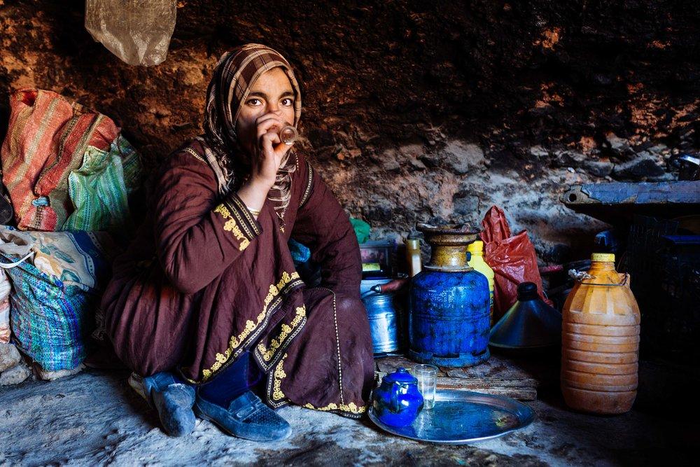 portrait, Maroc