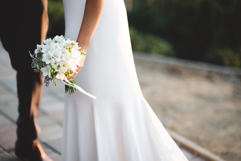 bouquet and dress hasti and cogan.jpg