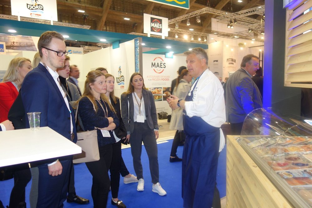 Module 3 (2018), Seafood Expo, Brussels