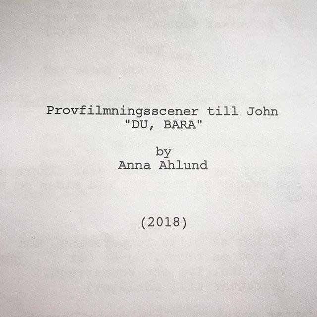I dag har vi haft provfilmning med några riktiga stjärnor som sökt rollen som John 💫 Av 65 sökanden valde vi ut fyra som kom till Uppsala och provfilmade. Nästa steg är att gå igenom vårt filmade material 😍