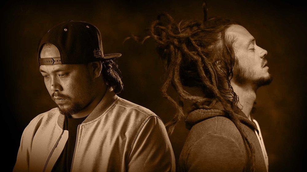 Chris Boomer & Jacob Hemphill photo portraits Acoustic Attack