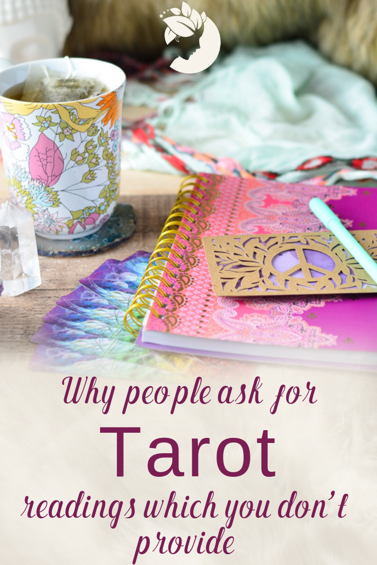 Are you a Tarot reader who only does holistic healing readings but seekers think you're a Gypsy fortune teller? Do you not consider yourself psychic but folks think you're a medium? Don't practice magic but people think you're a witch? You have branding problem in your business.