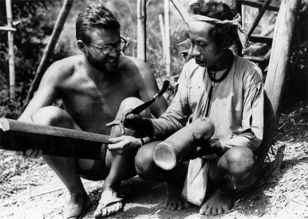 Harold Conklin and Badu' Ihuy, Philippines, 1953  NAS Biographical Memoirs